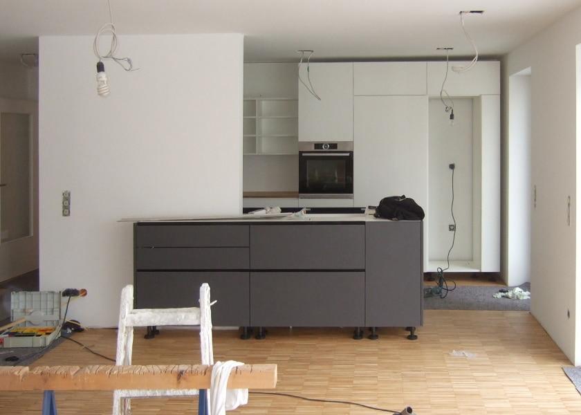 Innenausbau#Gerne erbringen wir auch Leistungen, die Architektur erst komplett machen. Im Innenraum sind das z.B. Entwürfe für Einbauküchen oder Badmöbel. #zur Leistung