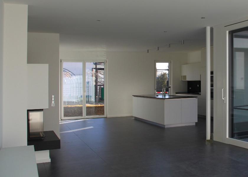 Bungalow Wohnraum