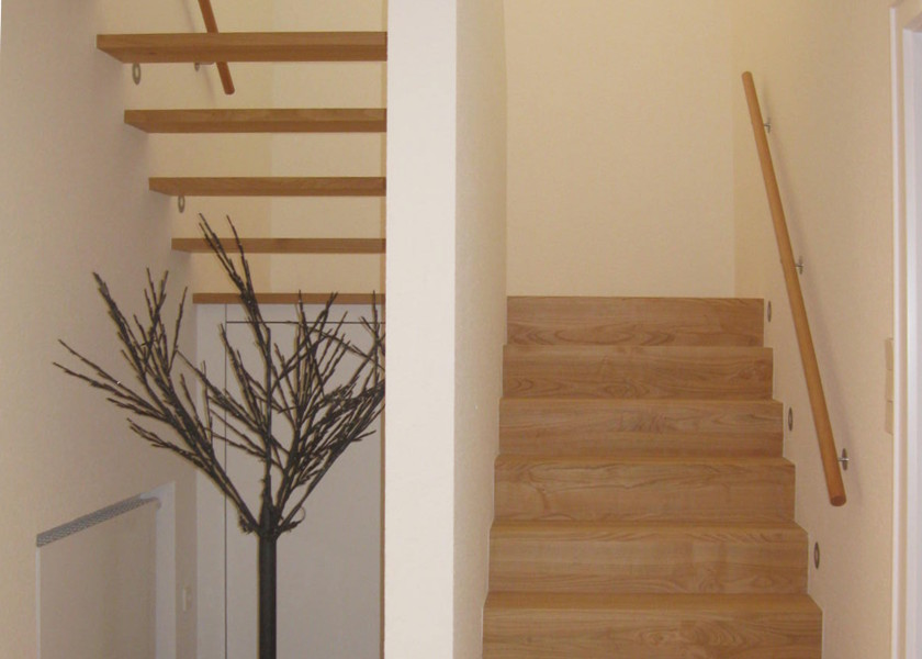 Mehrfamilienhaus Treppe