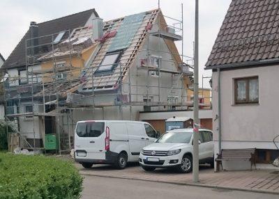 Neuwirtshaus Dachdämmung