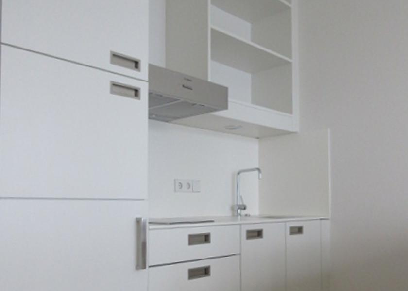 Studentenwohnheim-Küche