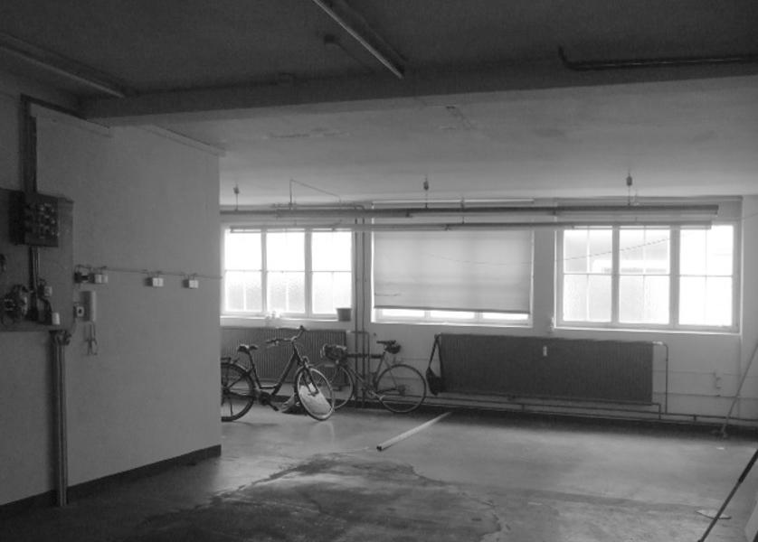 Werkstatt Wohnzimmer vor Umbau
