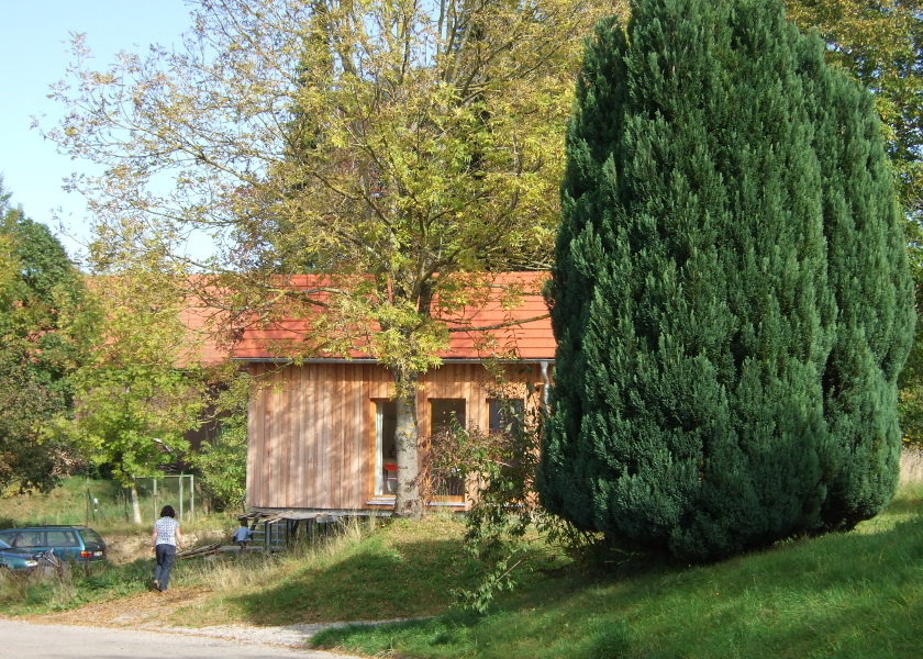 Holzhaus-West
