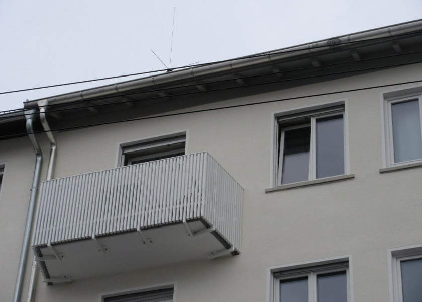 Balkon 50er Jahre